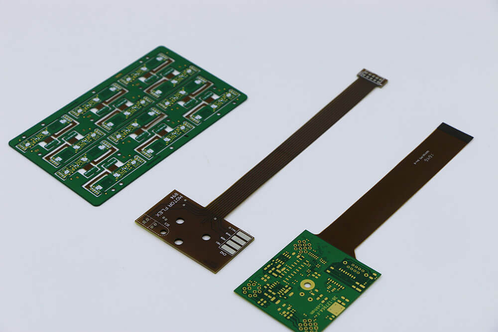 Rigid flex pcb 2 layers