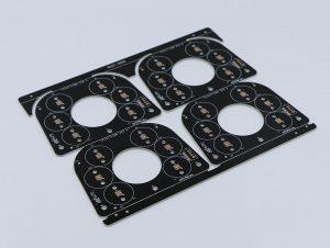 Alumnium pcb led solder mask